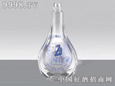 海之蓝酒瓶