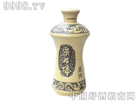 醴陵白陶嘉宾酒瓶