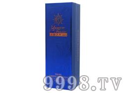 赤霞珠单瓶蓝色礼盒