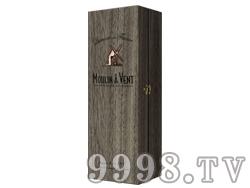风车珍藏单瓶装木盒