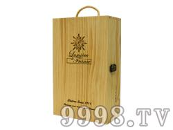 法国之光通用双支装清漆木盒