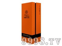 法国之光橙色高级礼盒单支装