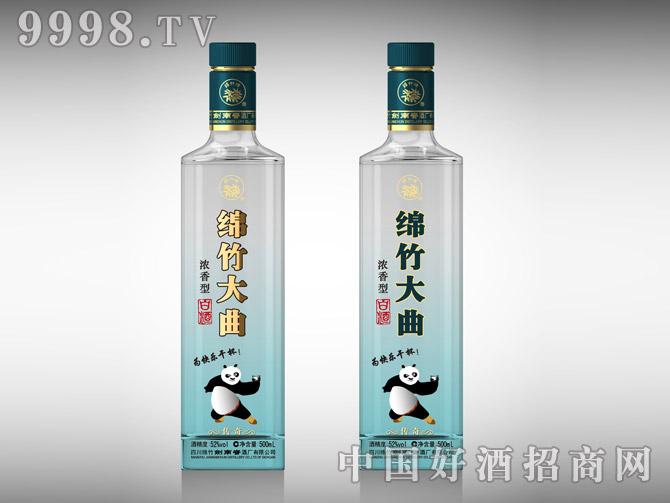 光瓶酒-绵竹大曲传奇款-白酒招商信息