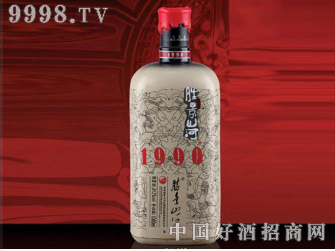 胜景山河酒瓶