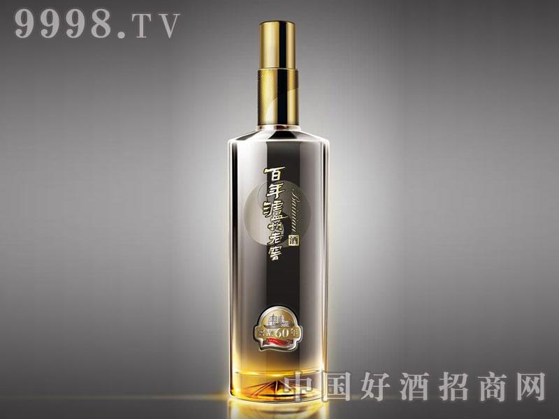 儒诚透明釉工艺瓶・百年泸州老窖60