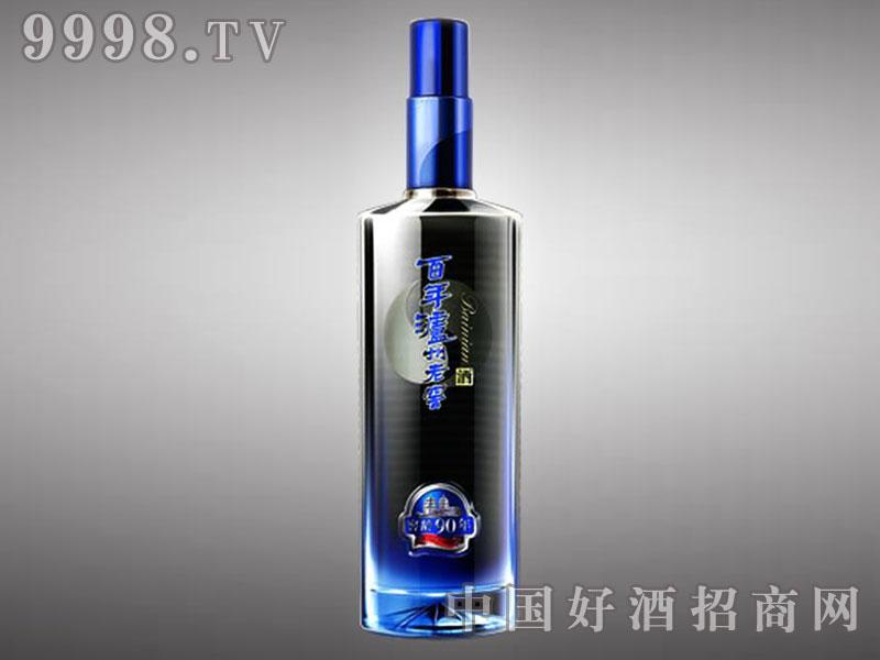 儒诚透明釉工艺瓶・百年泸州老窖90
