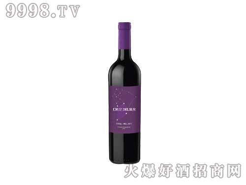 阿根廷南十字星西拉马尔贝克干红葡萄酒