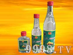 军旗百年-牛二陈酿白酒42度500ml