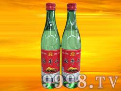 军旗百年-白牛二陈酿白酒500ml