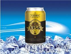 12°P萨瑞娜1356小麦原浆黑啤罐装