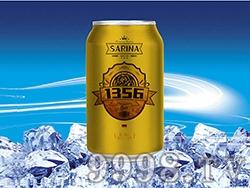12°P萨瑞娜1356小麦原浆白啤罐装