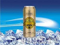 8°P萨瑞娜1356大麦冰纯黄啤听装