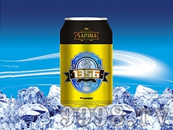 8°P萨瑞娜1356大麦冰纯黑啤罐装