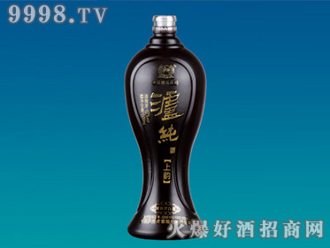 华峰喷涂玻璃瓶泸纯上韵HF-150-500ml