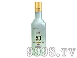 玫瑰缘53度(方瓶500)葡萄蒸馏酒