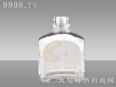瑞升高白玻璃瓶-蜜红蜂蜜酒250ml