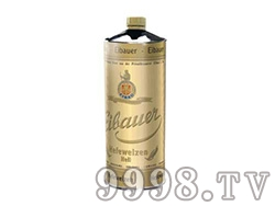 爱堡小麦白啤酒-2L