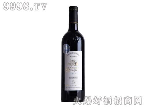 法国尚多芳米内瓦奥特城堡葡萄酒