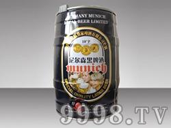 10度尼尔森黑啤酒
