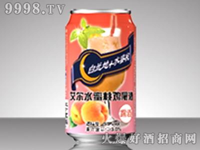 艾尔花罐水蜜桃鸡尾酒