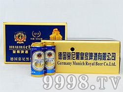 皇尊啤酒500ml×24罐