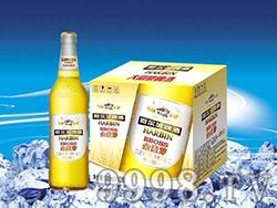 哈尔滨啤酒金麦芽500ml瓶装