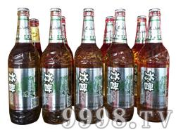 泰山冰力-冰啤白瓶