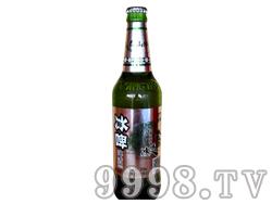 泰山冰力-冰啤绿瓶
