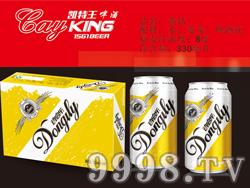 凯特王啤酒・黄钻