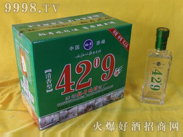 裕井烧坊酒42°9蓝