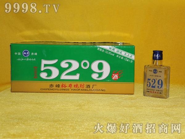 裕井烧坊酒52°9蓝