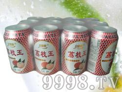 贝丽斯荔枝味果味碳酸饮料12罐320ml