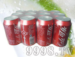 贝丽斯可乐碳酸汽水12罐320ml