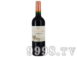 法国乐朋城堡红葡萄酒2012