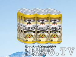 小麦王啤酒500ml(塑包)