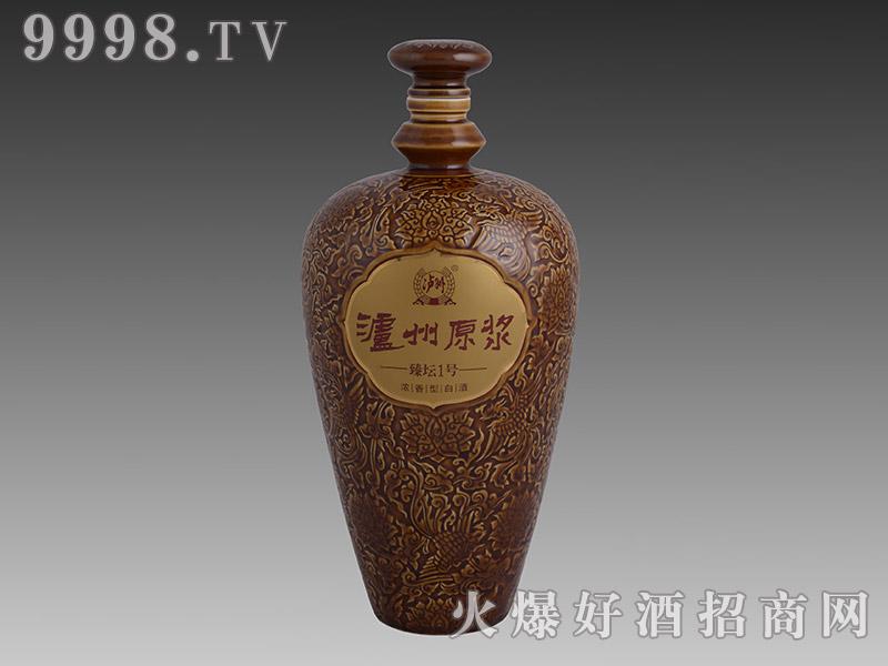 银和瓷瓶-泸州原浆-臻坛一号
