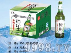 纯生啤酒500ml塑包