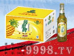 菠萝啤啤酒330ml×24瓶