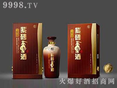 暗星陶瓷酒瓶·紫砂董酒