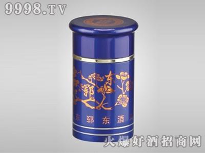 郓东氧化铝瓶盖Y-051深蓝梅花