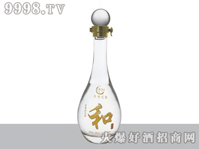 郓州晶白玻璃瓶和酒JB-011 500-1000ML