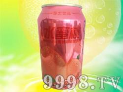今有原水蜜桃味碳酸饮料320ml