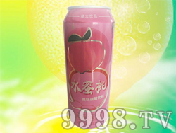今有原水蜜桃果味碳酸饮料490ml