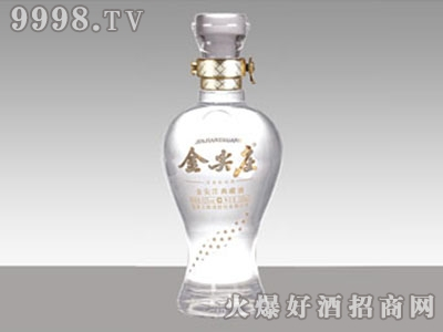 华锋玻璃酒瓶・金尖庄