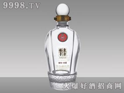 华晶玻璃酒瓶・东方娇子