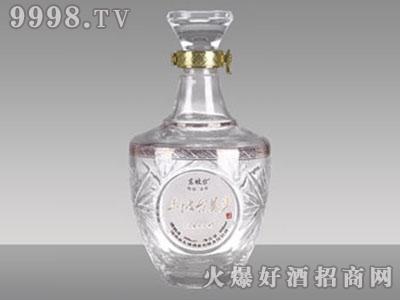 华晶玻璃酒瓶・泸州御酒