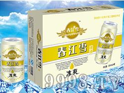 春江雪啤酒易拉罐330mlx24瓶