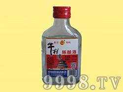 牛栏淳陈酿酒42度100ml红
