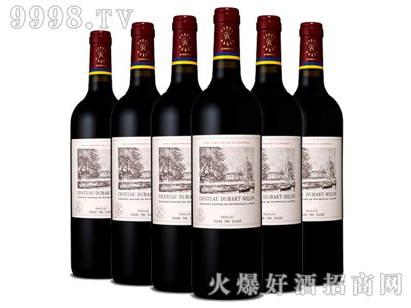 法国杜哈米隆庄园干红葡萄酒750ML