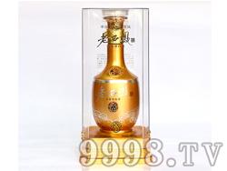 土豪金西凤酒-老西凤V12-52度